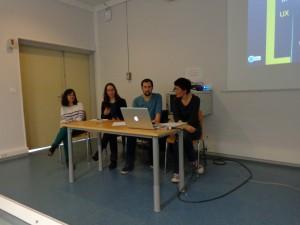 groupe LéA : Ghita, Amandine, Laurent et Sandrine