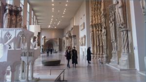 La Galerie des Moulages à la Cité de l'architecture et du patrimoine