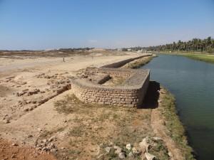 Les fortifications d'al-Balîd.