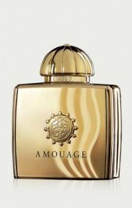 """Parfum """"Gold Woman"""" d'Amouage. (c) Amouage 2013."""