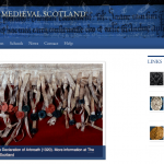 "Page d'accueil du projet ""The People of Medieval Scotland"""