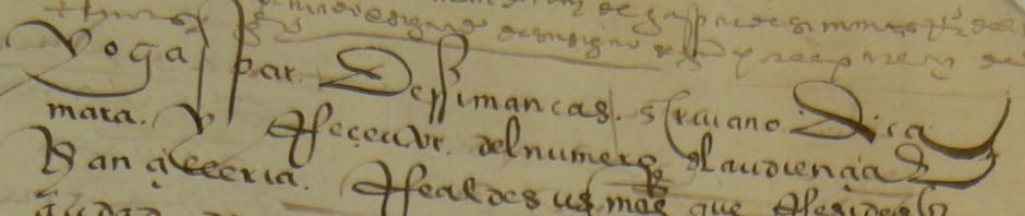 """Curso on line: """"Escrituras antiguas y grafías que han caído en desuso. Paleografía."""""""