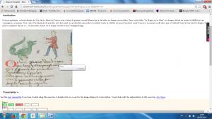Paleografía interactiva: docencia on line en francés (CIHAM, ENC, Menestrel)