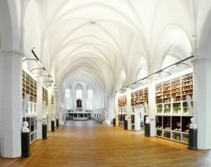 Paulinerkirche im Historischen Gebäude der SUB Göttingen, Foto: Martin Liebetruth für die SUB