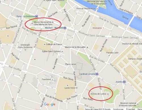 Arenas y Termas de París
