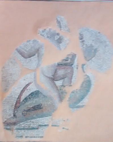 Mosaico Eros delfin