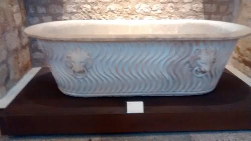 Paris, nov.2015, 232, Musée de Cluny, bañera romana
