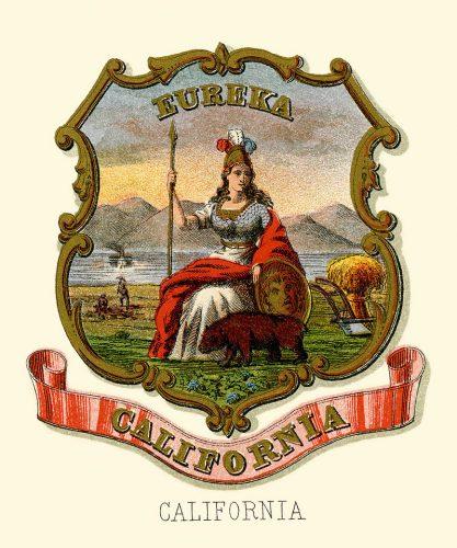 Escudo de CAlifornia de 1876