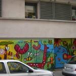 Loft et fresque