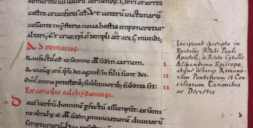 Lyon, B.M., 5804, f. 152r,b: titre ajouté par Chifflet (cliché Pierre Chambert-Protat, avec l'aimable autorisation de la Bibliothèque municipale de Lyon)