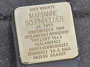 Mahnwache an den Dresdner Stolpersteinen