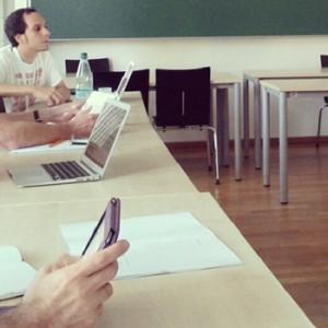 Barcamp Ilmenau Etherpad-Session, Foto: Tine Nowak
