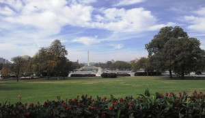 View from the U.S. Capitol Building on the National Mall and the Washington Monument | CC BY 3.0 DE | Merle Ingenfeld