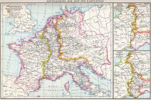 Quelle: Gustav Droysen, Allgemeiner Historischer Handatlas, 1886.