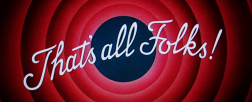 "Tex Avery, ""That's all folks"""