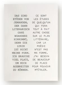 Couverture de l'édition bilingue des poésies complètes.