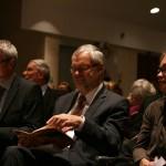 Prof. Dr. Martin Baumeister, Prof. Dr. Dr. h.c. Heinz Duchhardt und Prof. Dr. Gabriele B. Clemens, Vorsitzende des Wissenschaftlichen Beirats des DHI Rom.