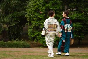 Women wearing kimonos in Tokyo, Japan | Flickr: Masahiro Hayata, 2007 | CC BY-SA 2.0