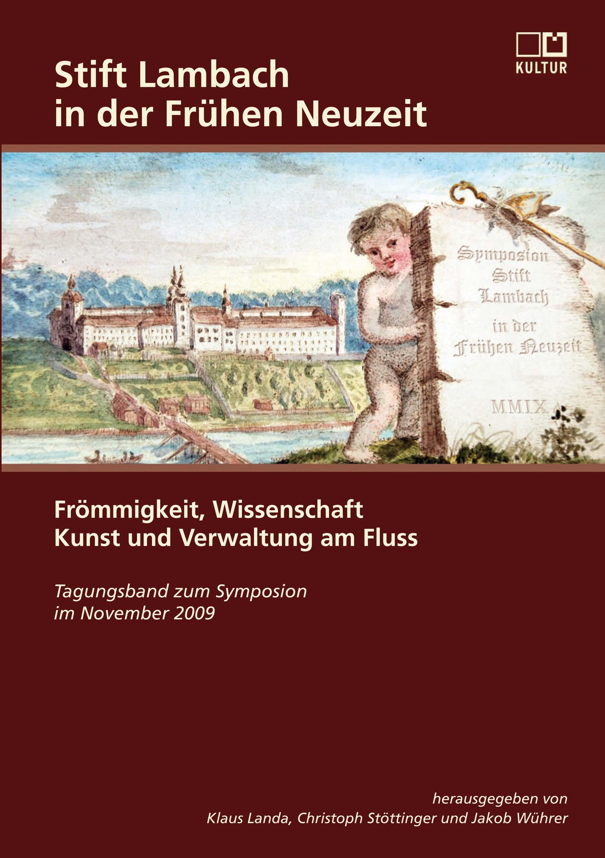 """Cover """"Stift Lambach in der Frühen Neuzeit"""""""