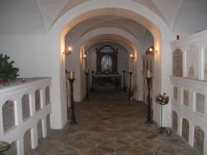 Gruft im Kloster Reisach