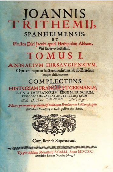 Annales Hirsaugensis