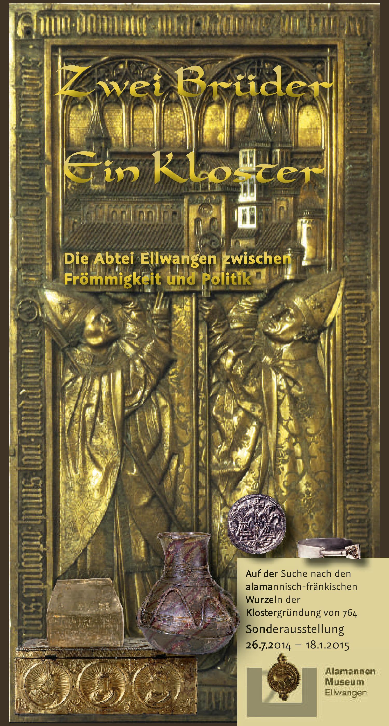 """Plakat """"Zwei Brüder - Ein Kloster"""""""