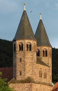 Türme der Klosterkirche Bursfelde