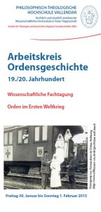 Arbeitskreis Ordensgeschichte 19./ 20. Jahrhundert