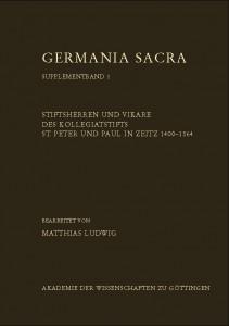 GS Supplementband 1 Zeitz UmschlagVorderseite