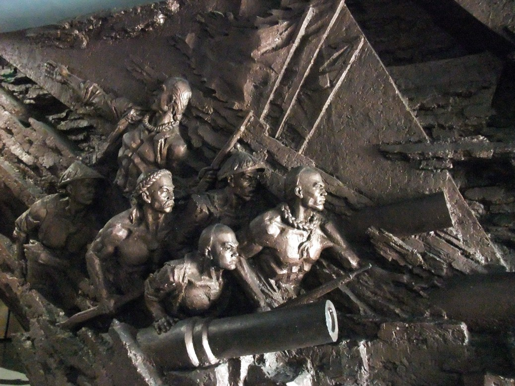 大沽口炮台遗址博物馆 (The Dagukou Fort Ruins Museum)