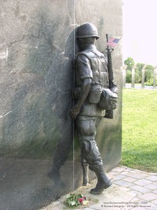 Vietnam War Memorial by William Yager © Richard Margolis