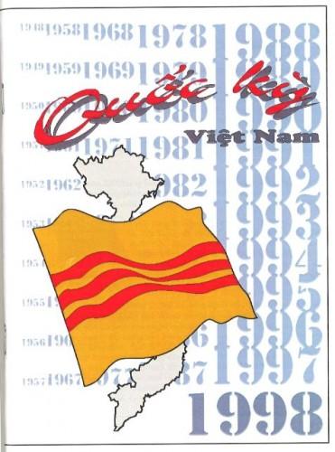 Brochure éditée par l'AGEVP à l'occasion du cinquantenaire du drapeau du Viêt-Nam libre 1948-1998 © collection FG