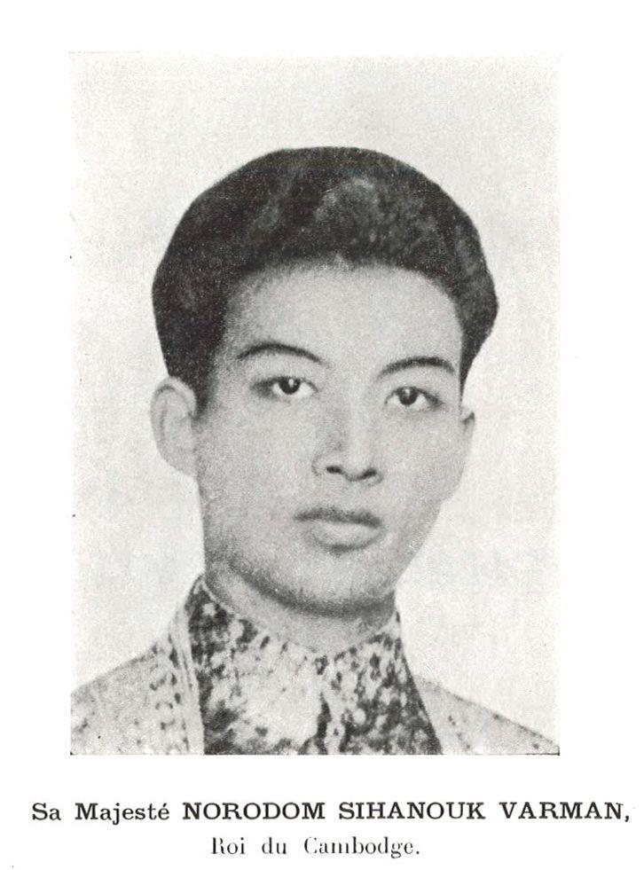 Norodom Sihanouk en francais