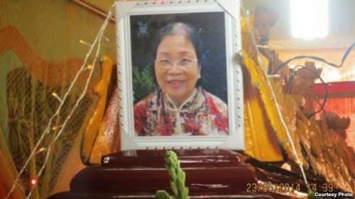 Photographie de Mme Le Thi Tuyet Mai © 2014 Truong Minh Duc / Dan Lam Bao
