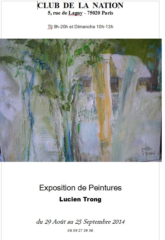 Exposition_LucienTrong2014