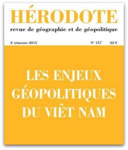 Parution : Hérodote spécial Viêt Nam