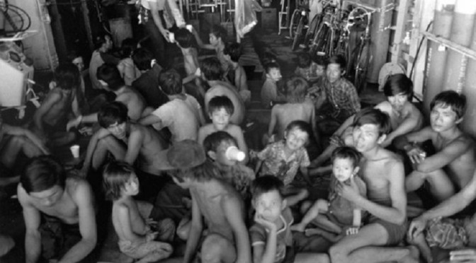 Vietnam's Boat People Mark Anniversary With Return to Refugee Camps [RFA]