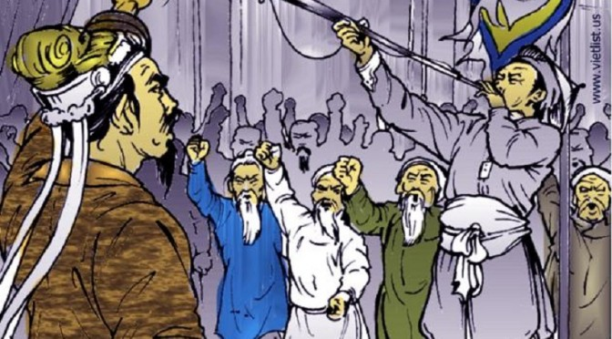 'Hội nghị Diên Hồng' trước nguy cơ môn Lịch sử bị xoá sổ [VN Express]