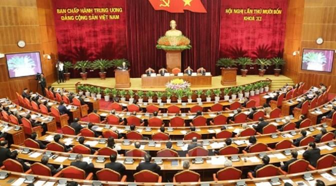 Revue de presse – 14e Plénum du Comité central du Parti communiste du Viêt-Nam (11e mandat)