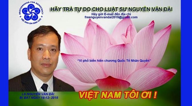 Nhân Danh Việt Nam: Free Nguyễn Văn Đài