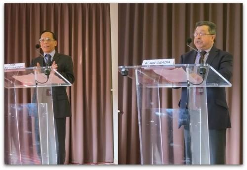 Pham Xuan Son & Alain Obadia