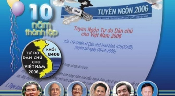 Bloc 8406 : premiers pas de la future révolution politique ?