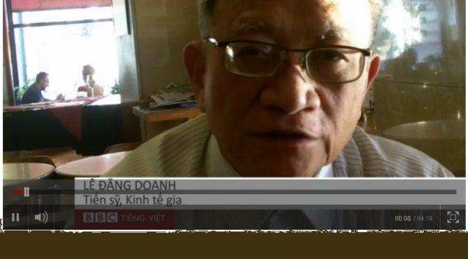 """Lê Đăng Doanh: """"VN cần cải cách mạnh mẽ"""" [BBC]"""