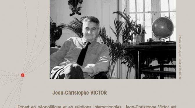 Jean-Christophe Victor, «un intellectuel intègre qui n'a jamais transigé» [décès]