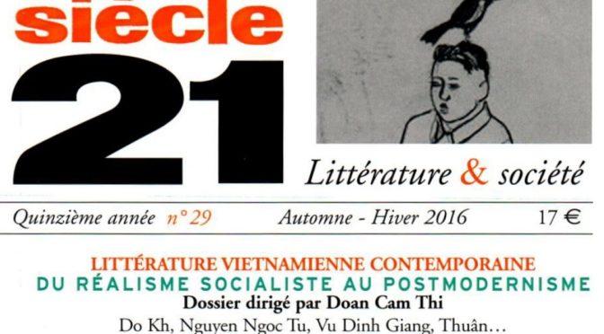 Siècle 21 : Littérature vietnamienne contemporaine – du réalisme socialiste au postmodernisme