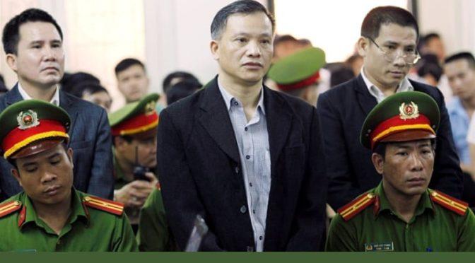 """""""La démocratie n'est pas un crime"""" – Hanoi, 5 avril 2018"""