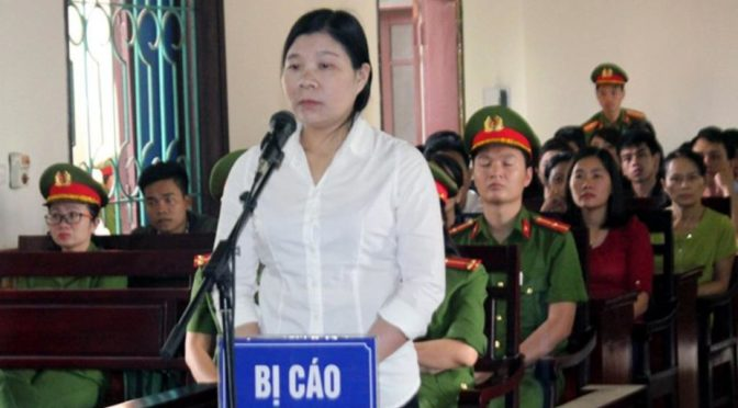 Việt Nam : Thêm ba nhà hoạt động lãnh án tù [RFI]