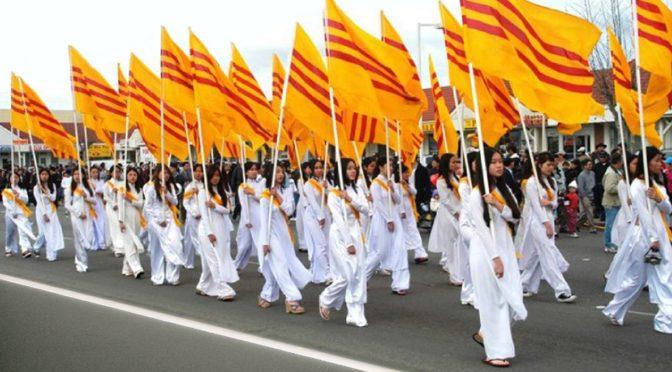 Célébration des 70 ans du Drapeau Jaune du Vietnam Libre – samedi 9 juin 2018