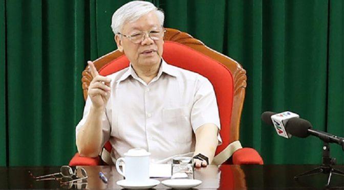 Nguyen Phu Trong de nouveau au travail