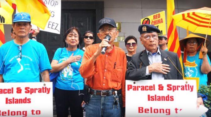 Viêt-Nam : Feu vert pour protester contre le fait accompli Chinois en Mer de Chine ?